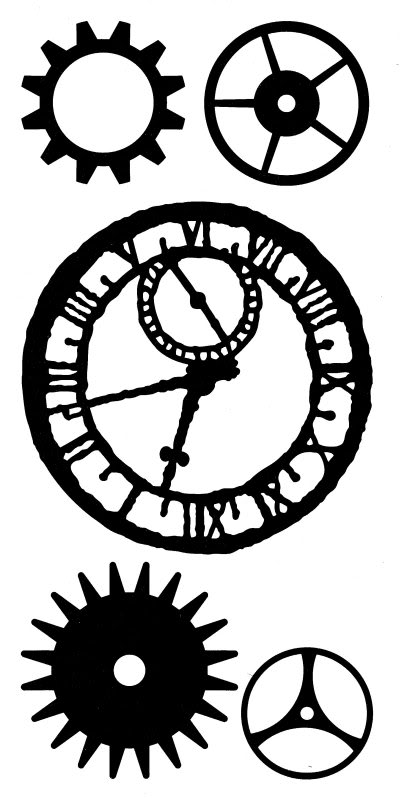 Steampunk clipart black and white On Art Art  Steampunk