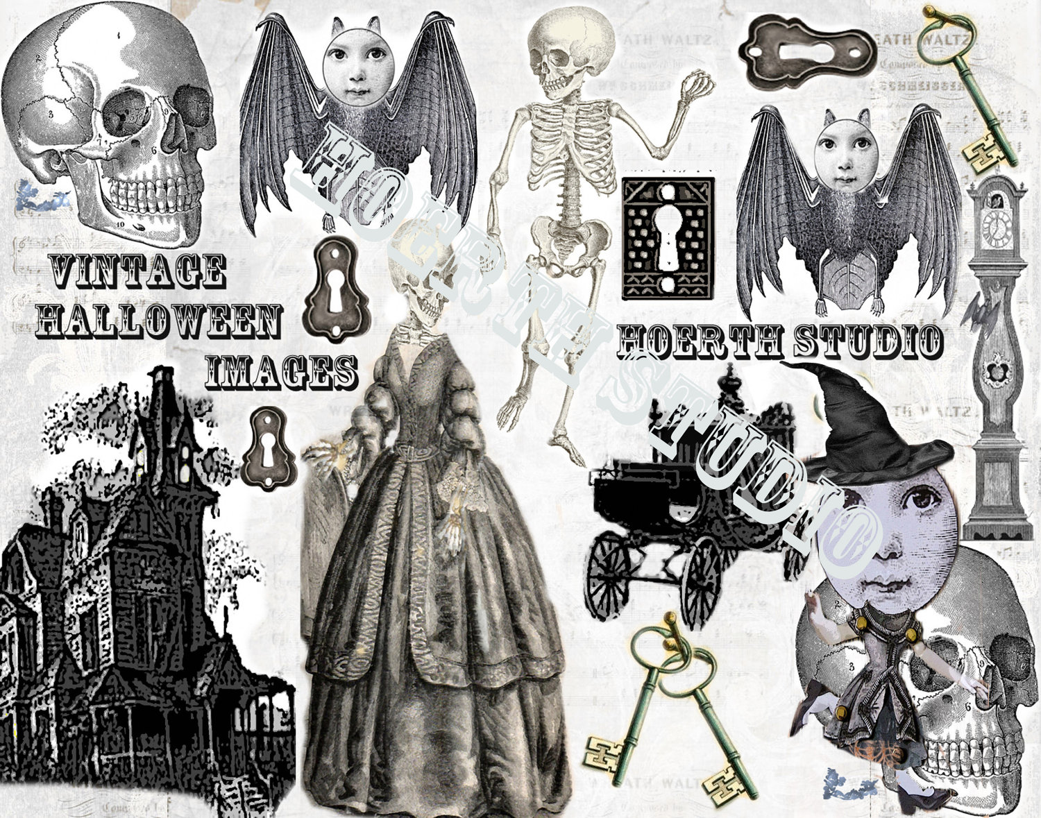 Steampunk clipart halloween Like Halloween Printable Gothic this