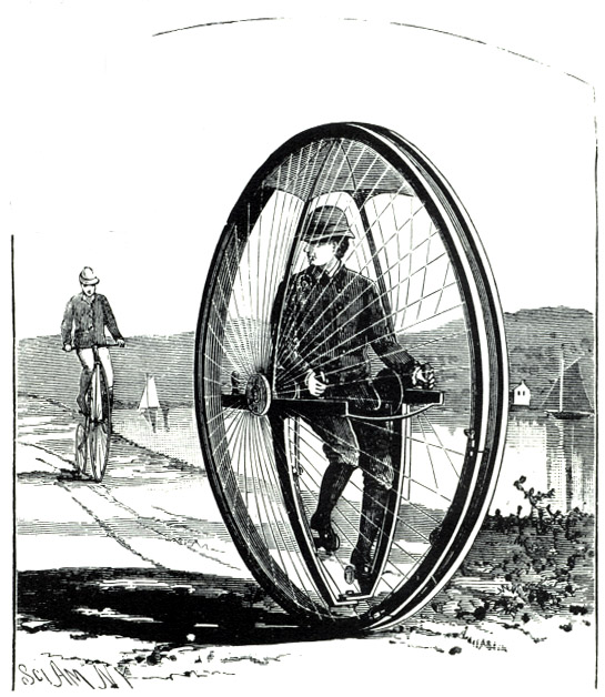 Steampunk clipart invention 3 Vol Cycle : Awkward