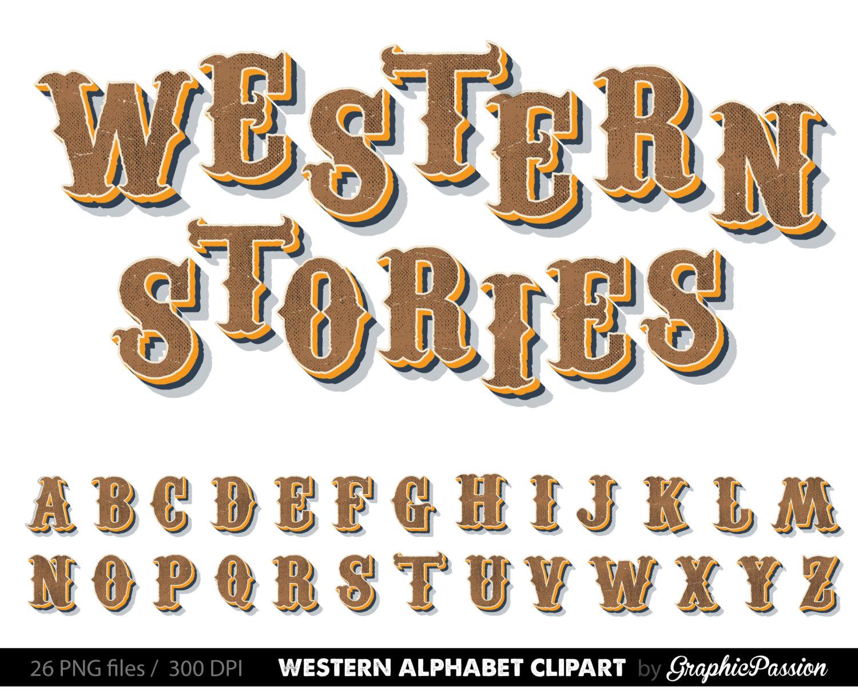 Steampunk clipart letter Western Art Art Shabby Clip