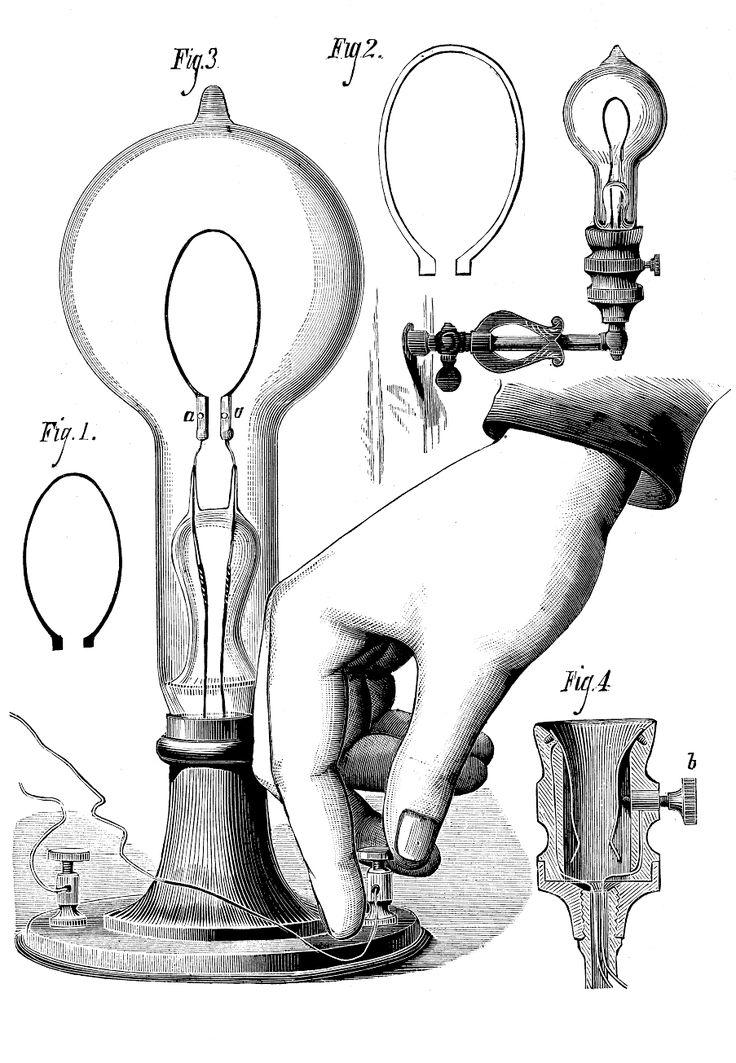Steampunk clipart light bulb Light on Image bulbs Diagram