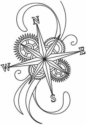 Compass clipart steampunk Steampunk Compass Compas Compass Steampunk