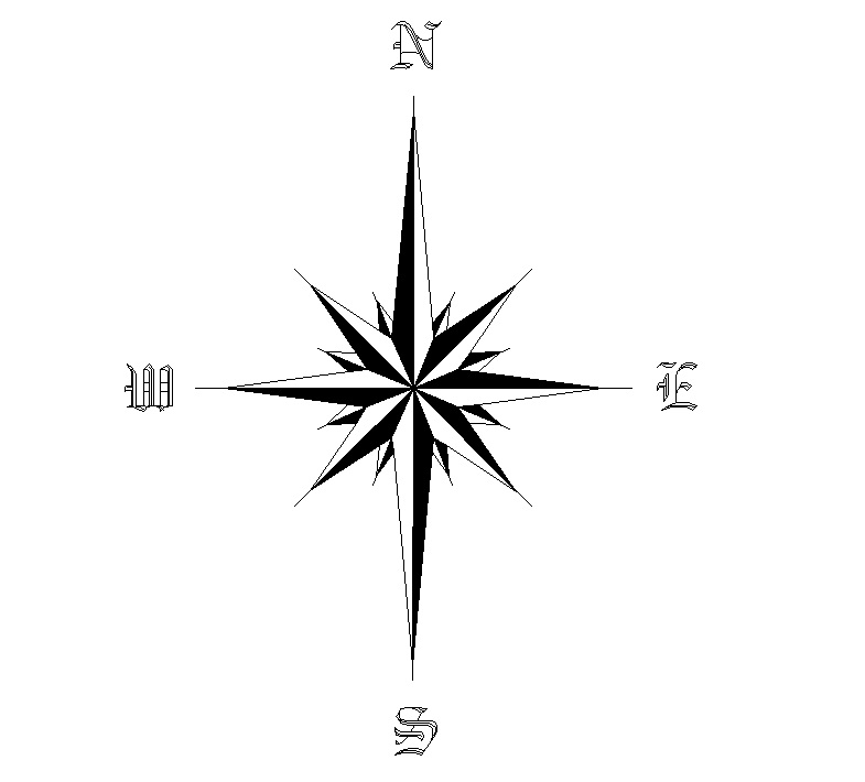 Steampunk clipart north arrow Tattoo Arrow Star Tattoo Star