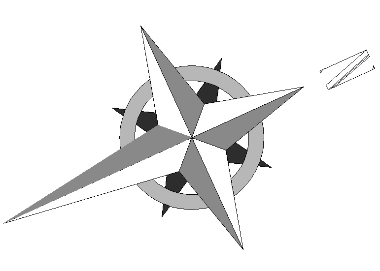 Steampunk clipart north arrow COMPASS ARROW NORTH on arrow