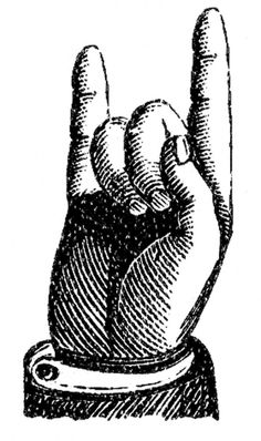 Victorian clipart pointer finger Clip for bonafidebride: {Harvest DIY