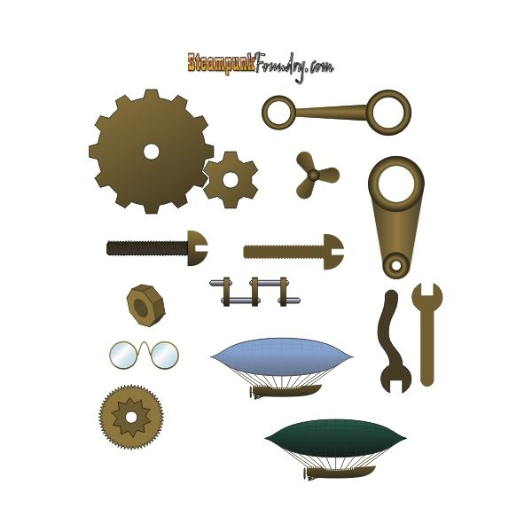 Steampunk clipart royalty free Publishing  Foundry Projects Desktop