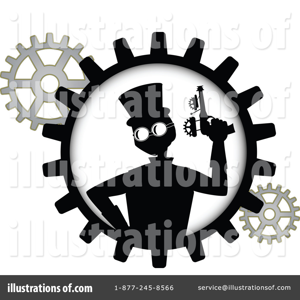Steampunk clipart royalty free By Steampunk Illustration Free mheld