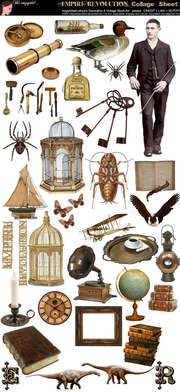 Steampunk clipart safari Clipart on images 614 this