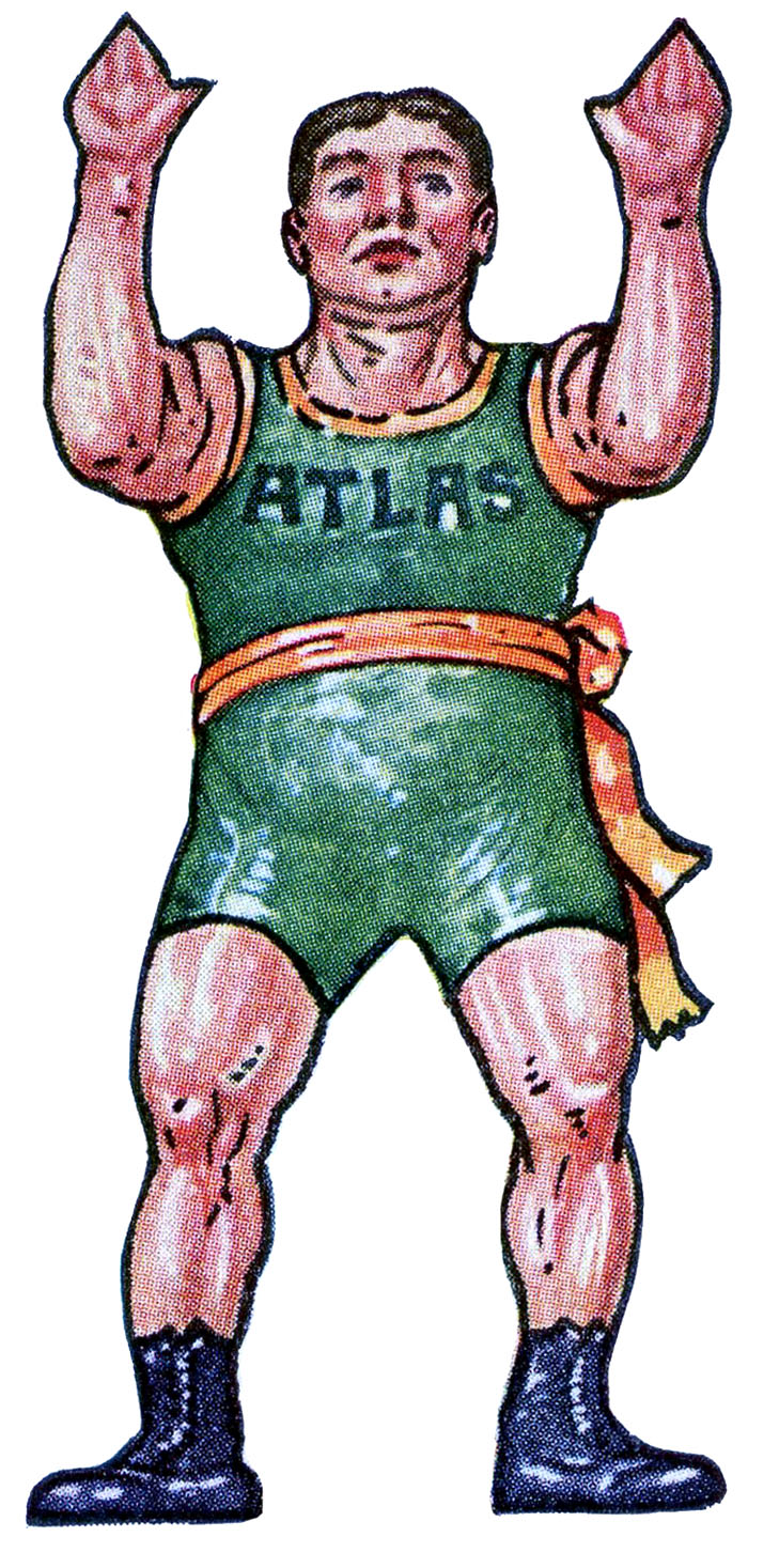 Carneval clipart strong man Vintage Graphics Fairy Printable The