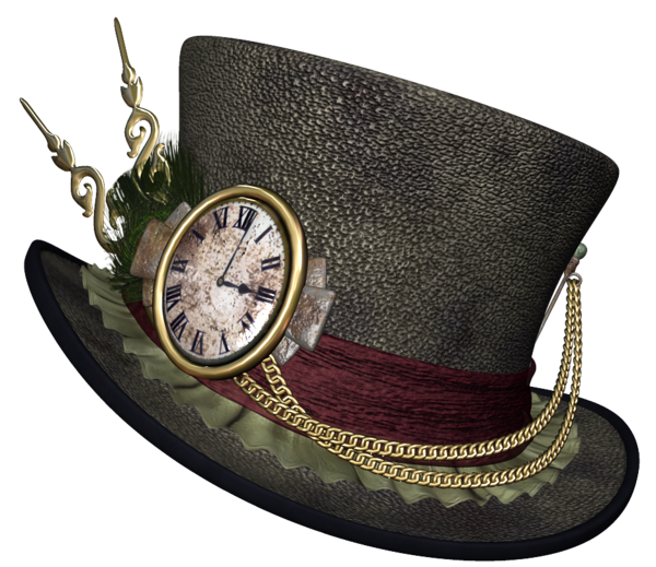 Top Hat clipart steampunk PNG Steampunk Clipart Hat Steampunk