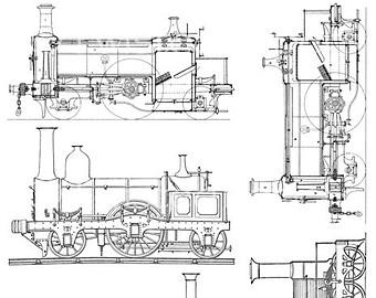 Steampunk clipart train Railroad Train Art Steampunk Media