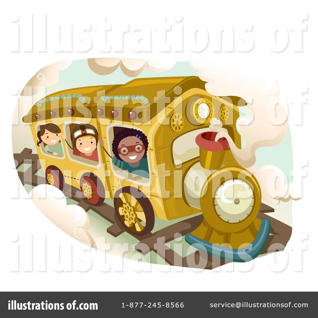 Steampunk clipart train Studio Royalty Clipart Sample Steampunk