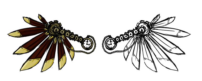 Wings clipart steampunk By Steampunk genesischant 2 Wings