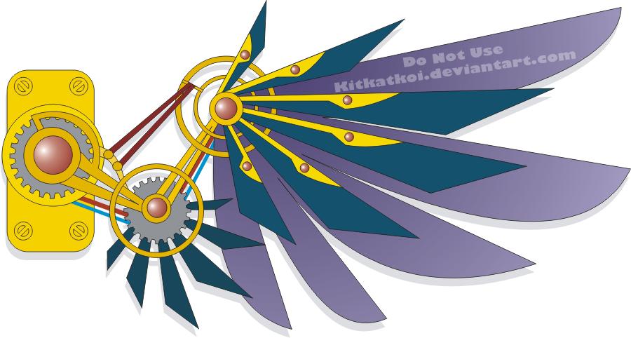 Wings clipart steampunk Tattoo Steampunk Steampunk deviantart Wing