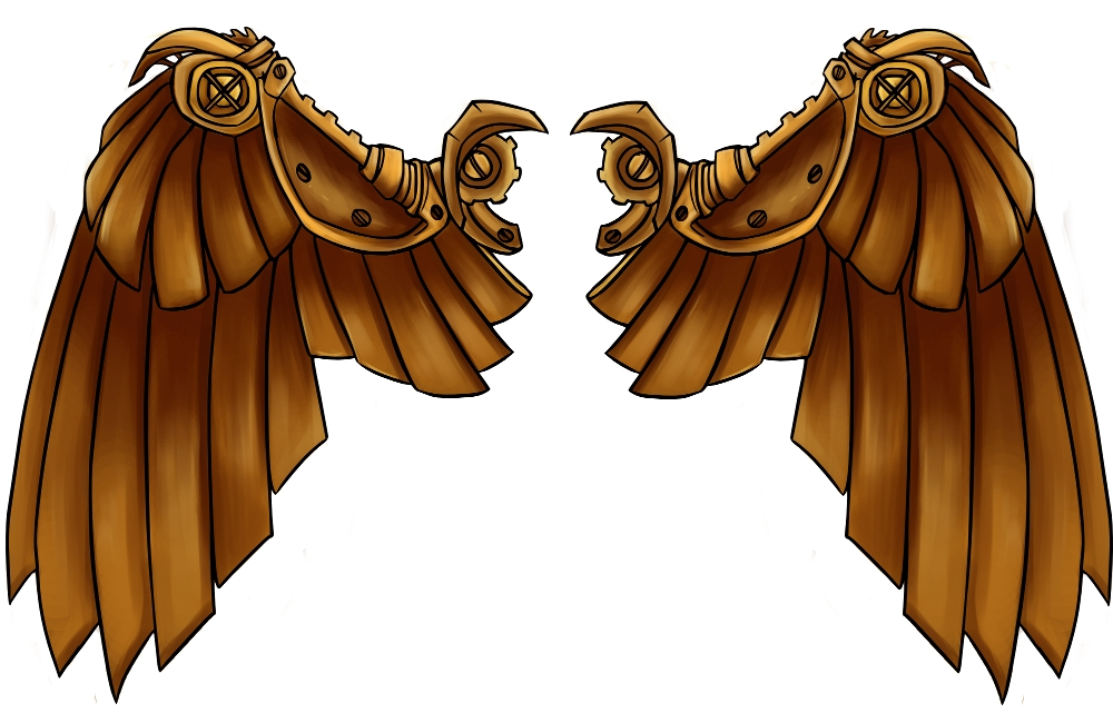 Wings clipart steampunk Deviantart  ✘ ALL Graphics