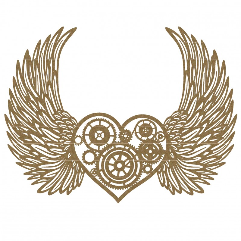 Wings clipart steampunk With Steampunk Best with Heart