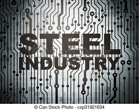 Steel clipart steel industry Drawings circuit concept: board Manufacuring