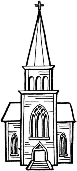 Steeple clipart small church Collection A Of steeple –