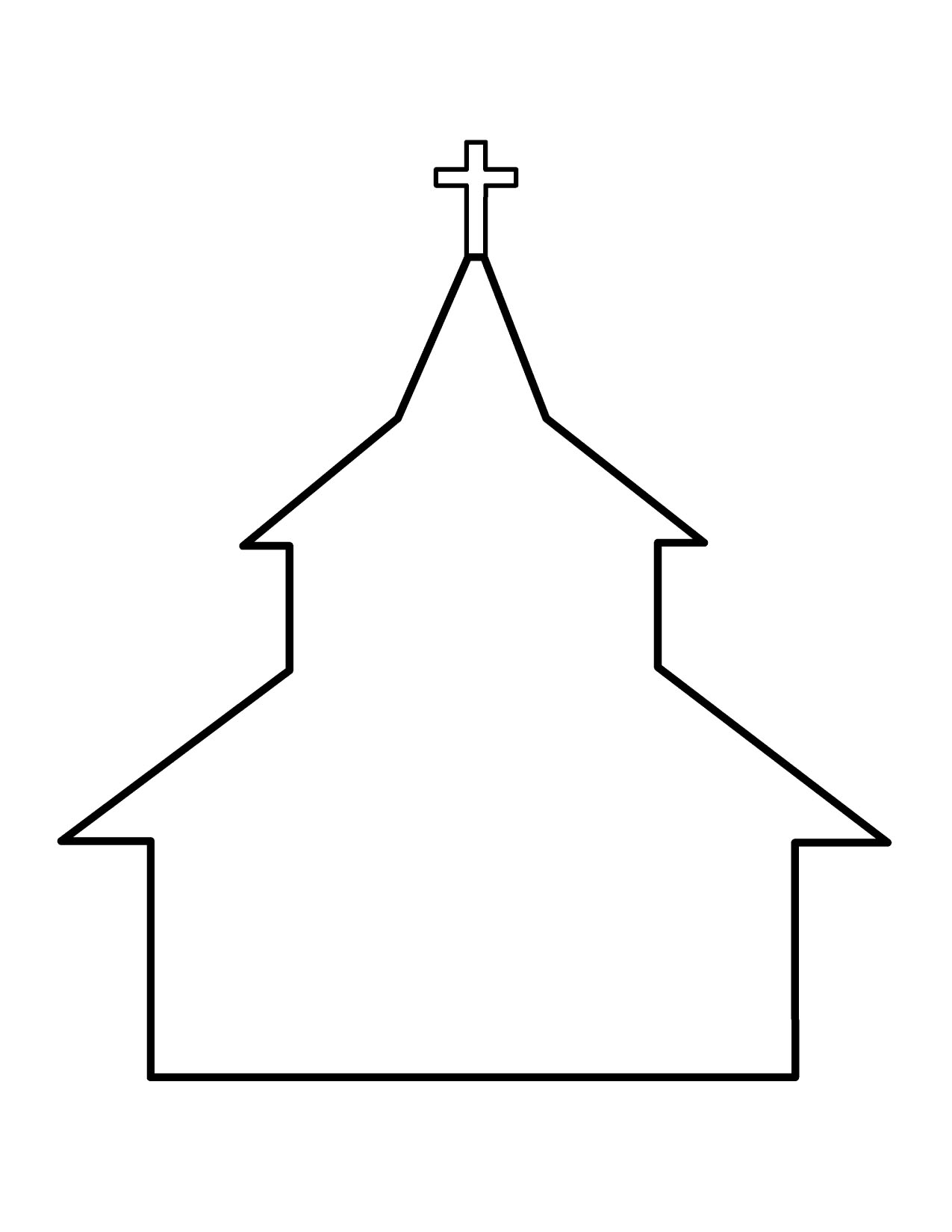 Religion clipart small church Art Church free Free Black