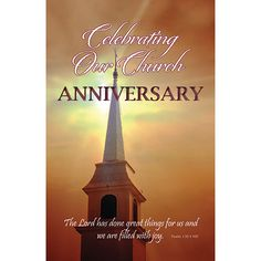 Steeple clipart 100th for Anniversary Bulletin 100)