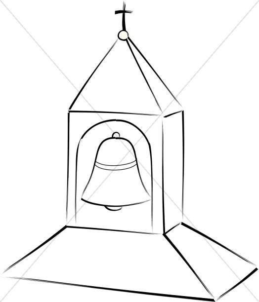 Tower clipart school bell #7