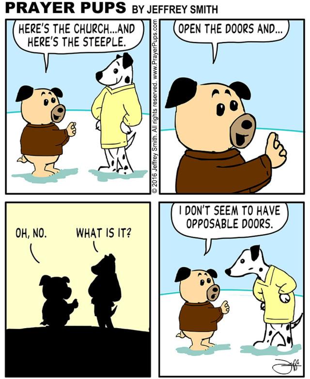 Steeple clipart church doors The Christian The Church Comics