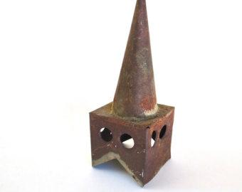 Steeple clipart english church Antique supplies Church Steeple Etsy