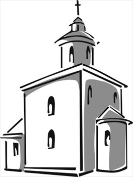 Steeple clipart free church Clipartcow art art Image images
