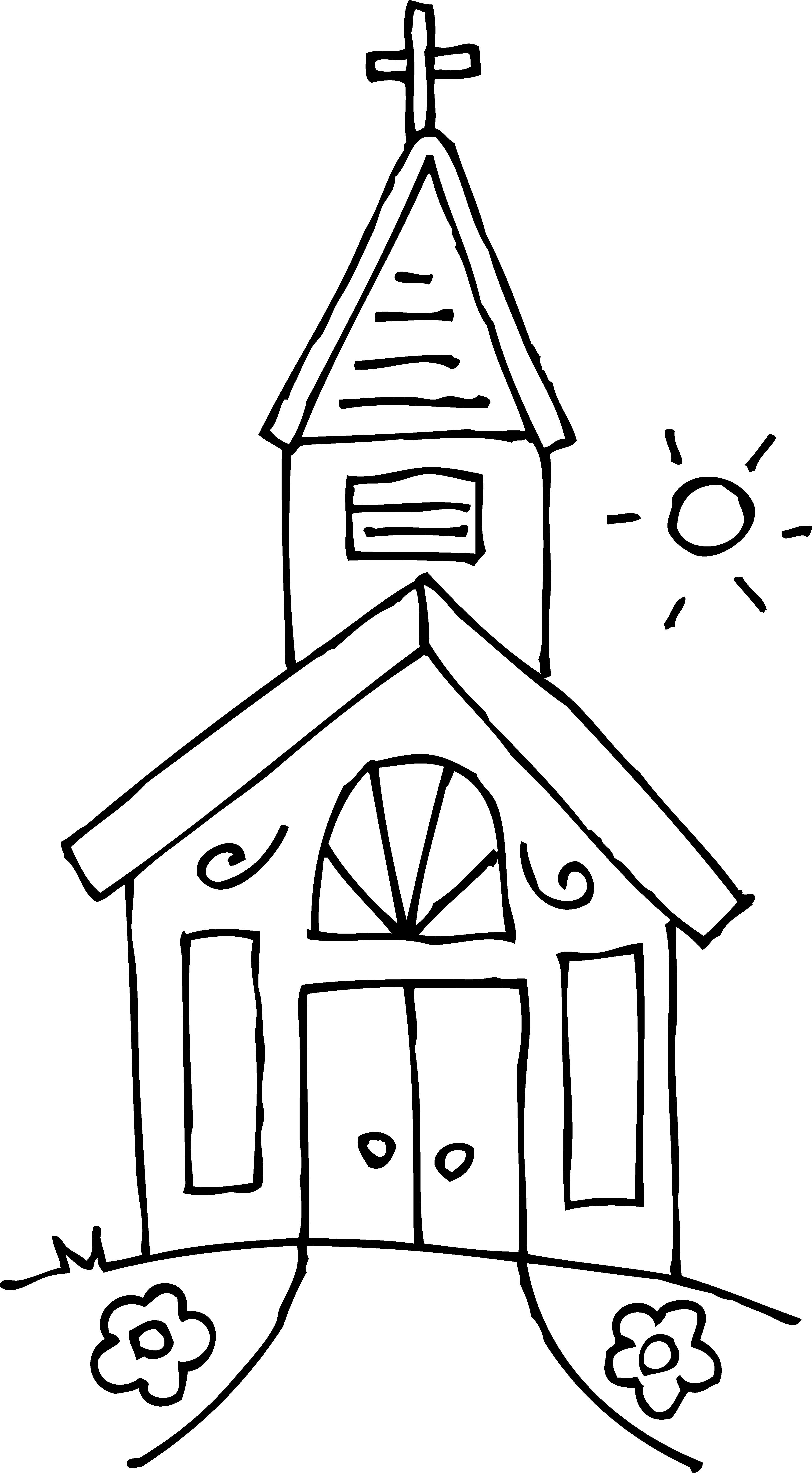 Steeple clipart free church Drawing  Church Steeple