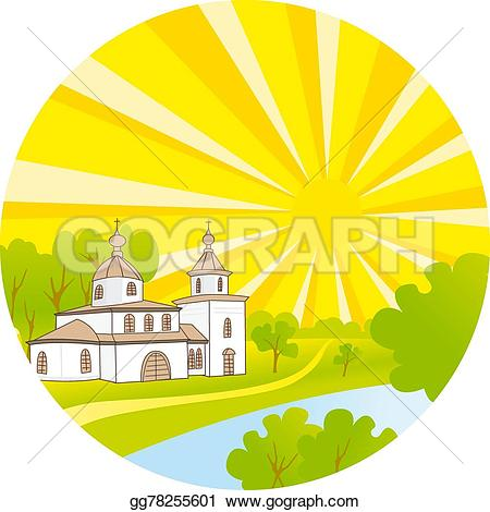 Steeple clipart kid With Stock steeple church and