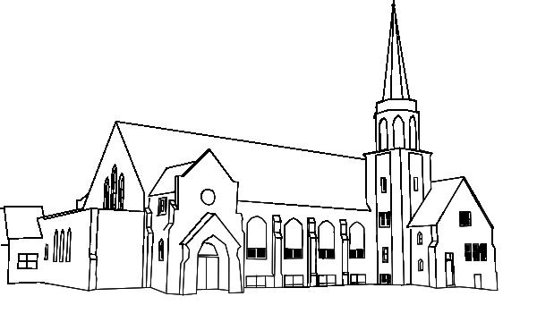 Steeple clipart medieval church Clip Clker  vector as: