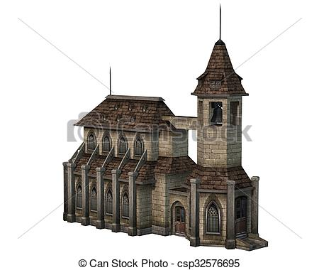 Steeple clipart medieval church Bell Medieval  with bell