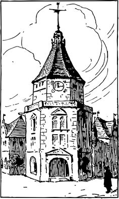 Steeple clipart medieval church And with Art Pinterest Steeple