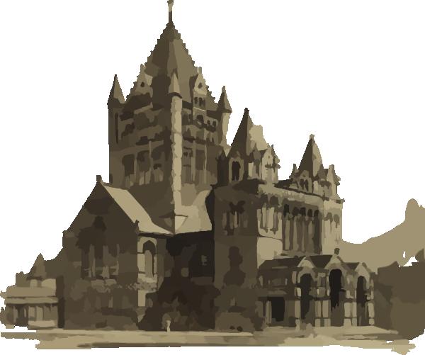Steeple clipart medieval church Art Use Public Domain Free