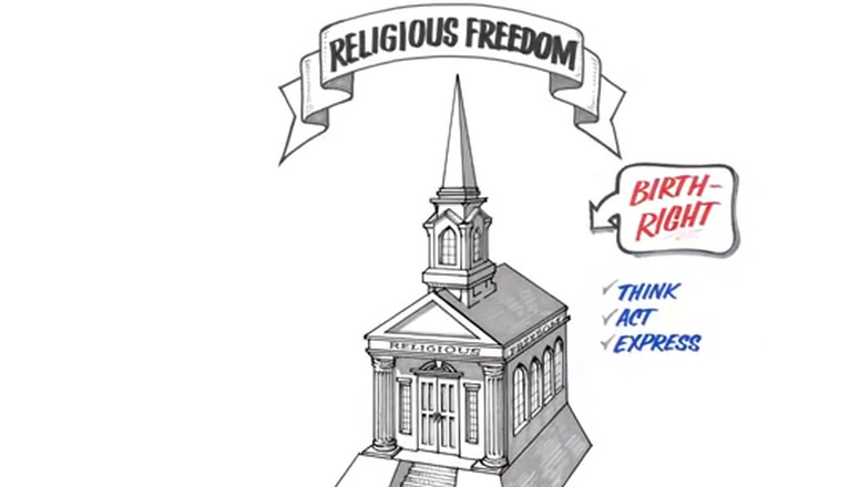 Steeple clipart religious freedom Church web support  in