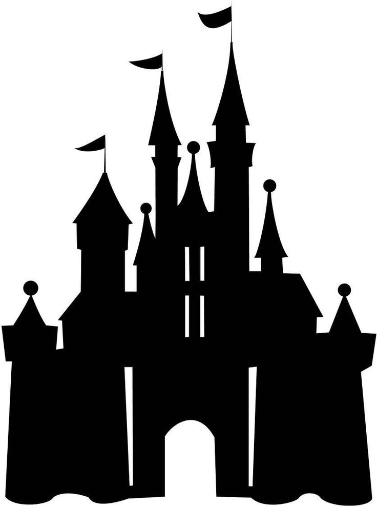 Amd clipart castle On Castle Silhouette Disney Pinterest