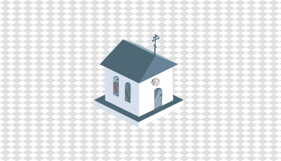 Steeple clipart small church Vector Graphics PSD Website Church