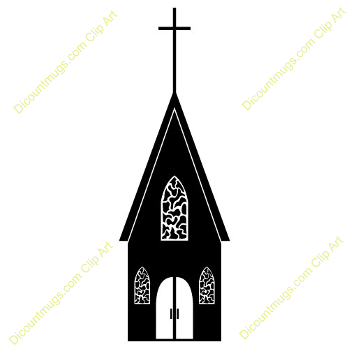 Chapel clipart silhouette Clipart Wedding Images Free Church