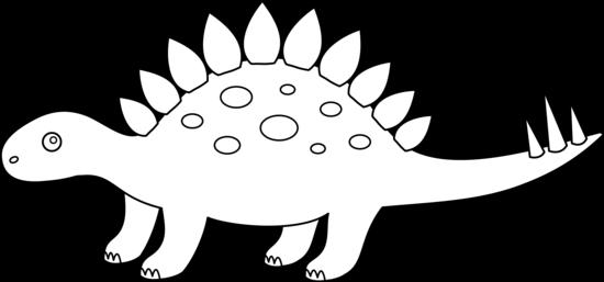 Stegosaurus clipart Free Coloring Free Clip Art