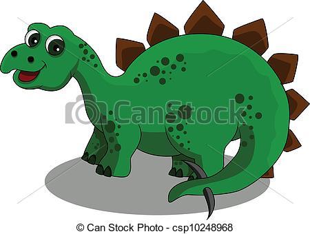 Stegosaurus clipart Vector of  Art Stegosaurus