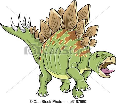 Stegosaurus clipart Vector Dinosaur 381 Stegosaurus