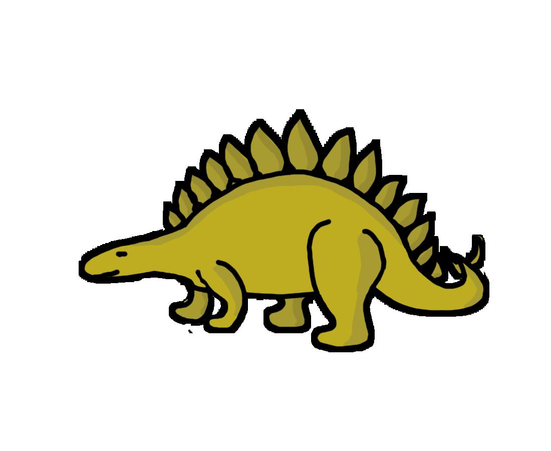 Bones clipart stegosaurus Panda Clipart Free Clip Free