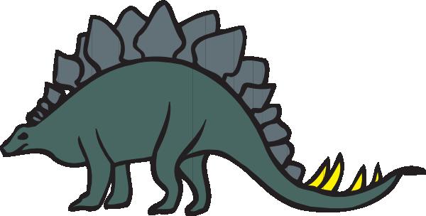Stegosaurus clipart At Stegosaurus vector clip Green