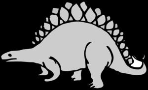 Stegosaurus clipart black and white Panda stegosaurus%20clip%20art%20black%20and%20white And  Stegosaurus