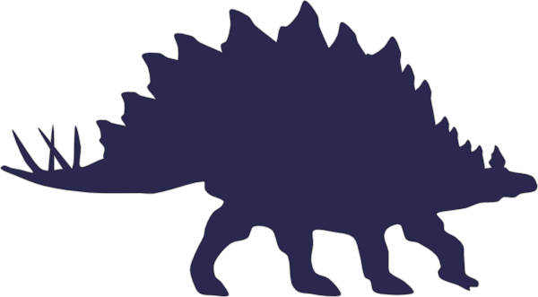 Stegosaurus clipart blue As: clip com vector Navy
