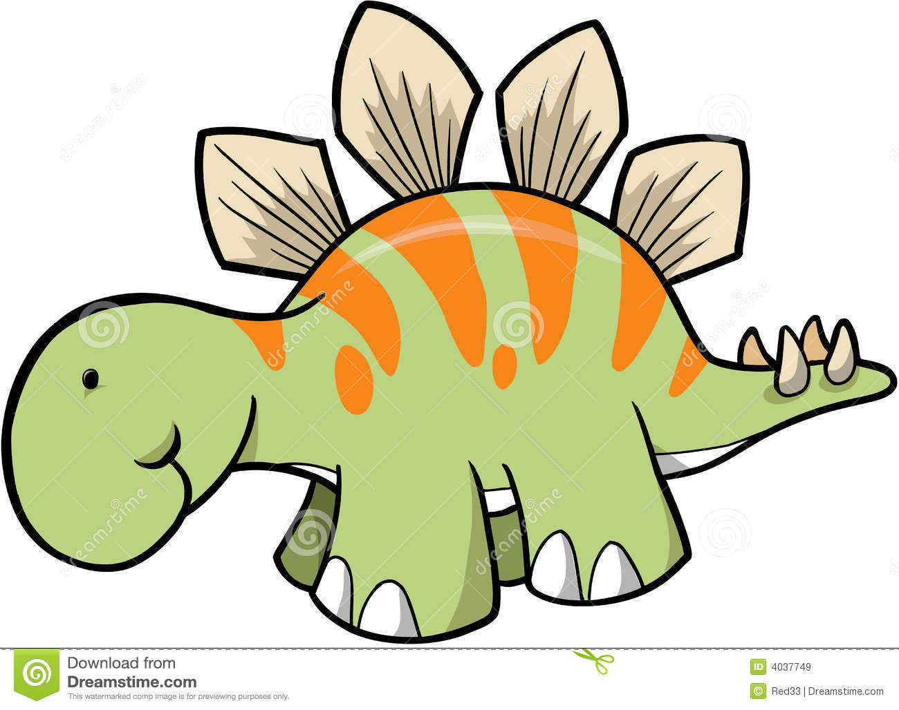 Stegosaurus clipart cute Art Panda Clipart Clip