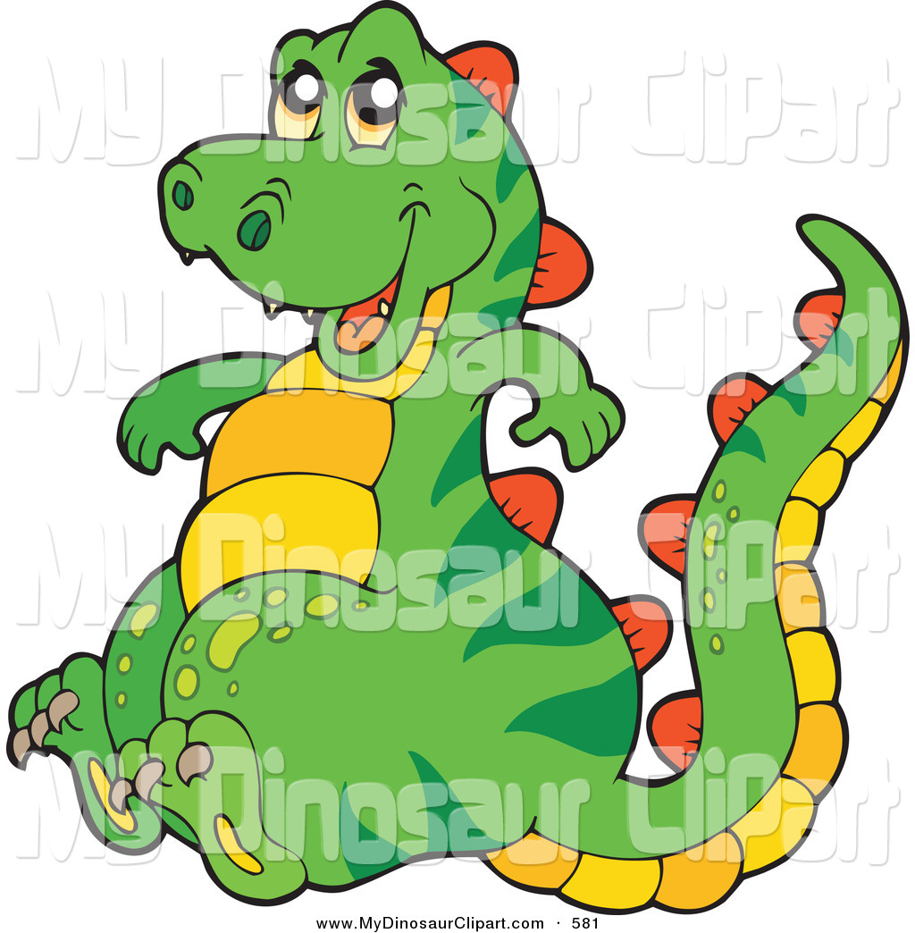 Stegosaurus clipart happy Sitting Smiling and and Dinosaurs