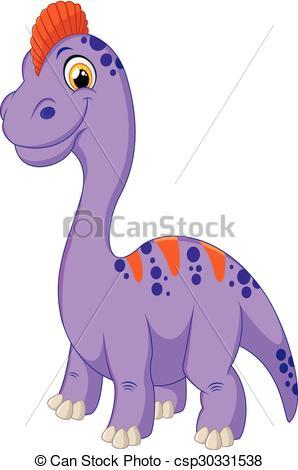 Stegosaurus clipart happy Cartoon Happy Vectors of baby