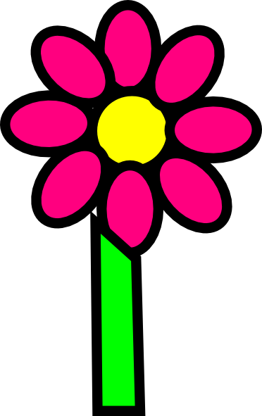 Stem clipart cartoon flower Clip this Download vector With