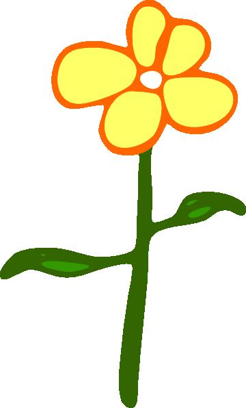 Stem clipart cartoon flower Art this Download clip Flower